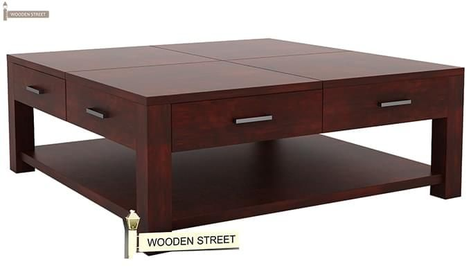 Borstein Coffee Table (Mahogany Finish)-2