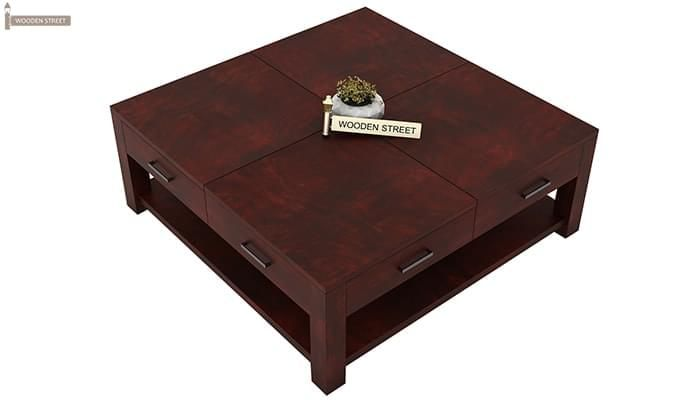 Borstein Coffee Table (Mahogany Finish)-4