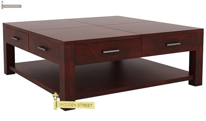 Borstein Coffee Table (Mahogany Finish)-5
