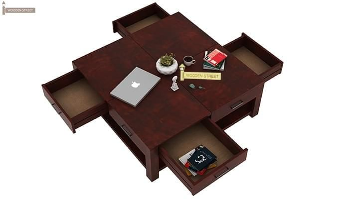 Borstein Coffee Table (Mahogany Finish)-7
