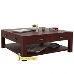 Borstein Coffee Table (Mahogany Finish)