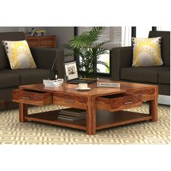 Borstein Coffee Table (Teak Finish)
