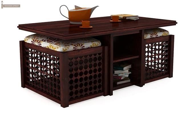 Bradford Coffee Table (Mahogany Finish)-2
