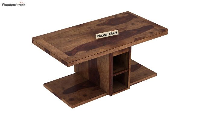 Bradford Coffee Table (Teak Finish)-8
