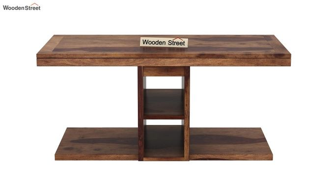 Bradford Coffee Table (Teak Finish)-9