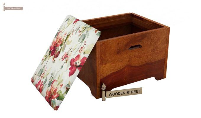 Breton 4 Seater Tea Table (Honey Finish)-8