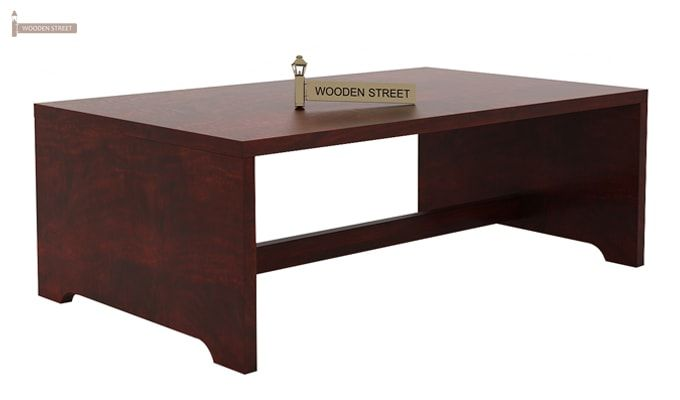 Breton 4 Seater Tea Table (Mahogany Finish)-5