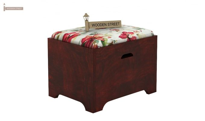 Breton 4 Seater Tea Table (Mahogany Finish)-6
