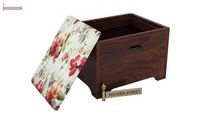 Breton 4 Seater Tea Table (Walnut Finish)-7