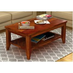Cambrey Coffee Table (Honey Finish)