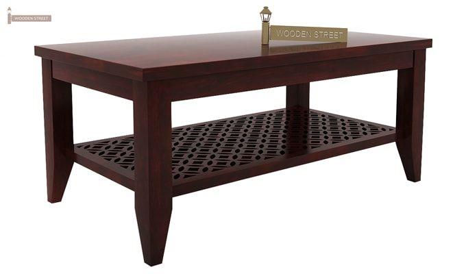 Cambrey Coffee Table (Mahogany Finish)-3