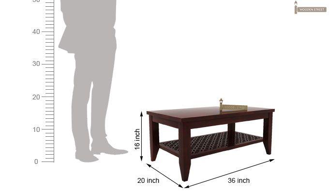 Cambrey Coffee Table (Mahogany Finish)-5