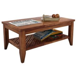 Cambrey Coffee Table (Teak Finish)
