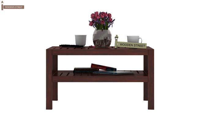Clara Coffee Table (Mahogany Finish)-2