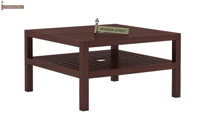 Clara Coffee Table (Mahogany Finish)-5