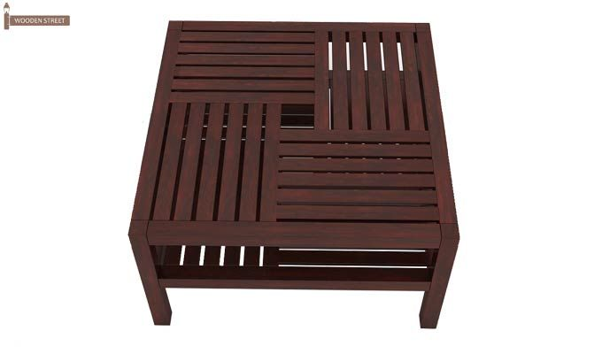 Clara Coffee Table (Mahogany Finish)-7