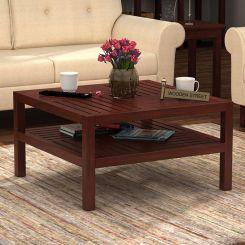 Clara Coffee Table (Mahogany Finish)