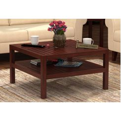 Clara Coffee Table (Mahogany Finish)