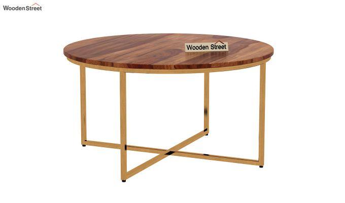 Crio Coffee Table (Teak Finish)-4