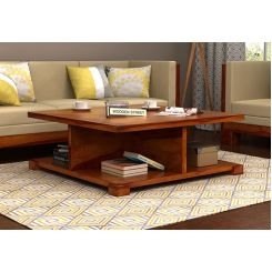 Crowley Coffee Table (Honey Finish)