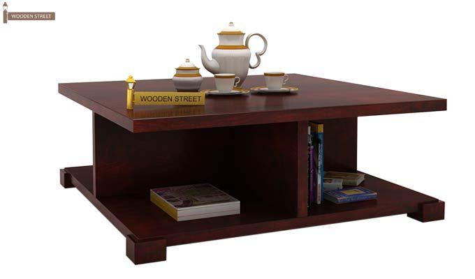 Crowley Coffee Table (Mahogany Finish)-1