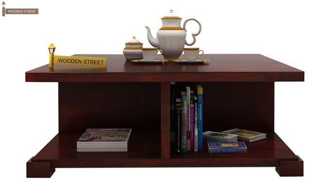 Crowley Coffee Table (Mahogany Finish)-2