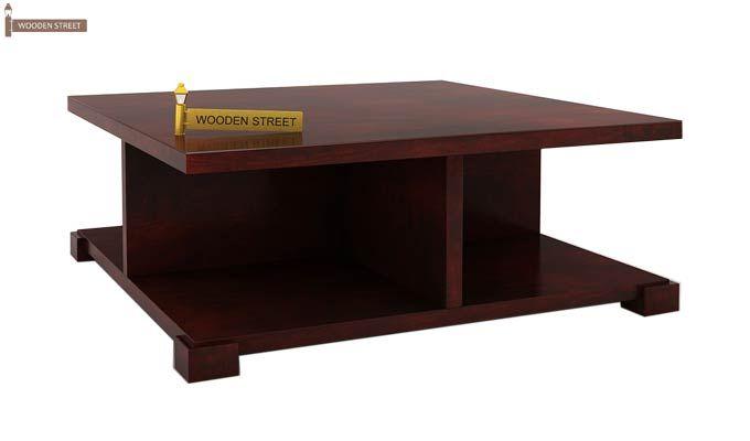 Crowley Coffee Table (Mahogany Finish)-3