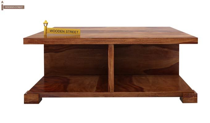 Crowley Coffee Table (Teak Finish)-4
