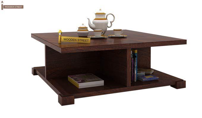 Crowley Coffee Table (Walnut Finish)-1