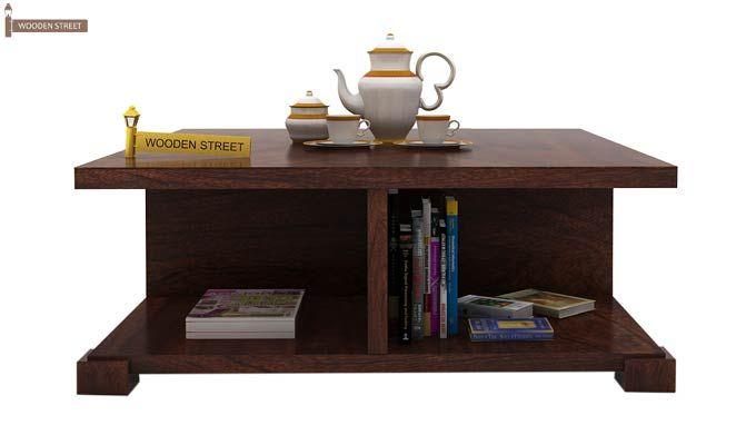 Crowley Coffee Table (Walnut Finish)-2