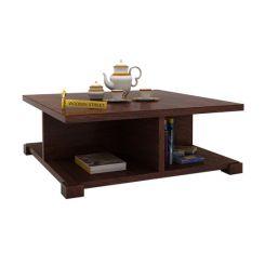 Crowley Coffee Table (Walnut Finish)
