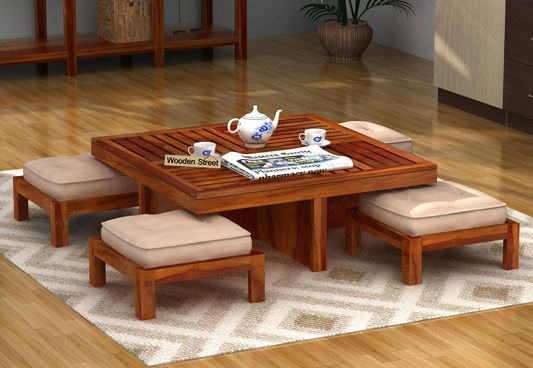Center Tables Online India, Round Coffee Table Online