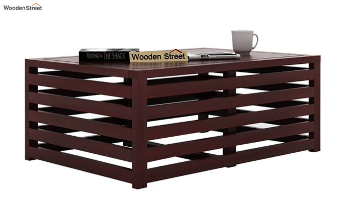 Douglas Coffee Table (Mahogany Finish)-1