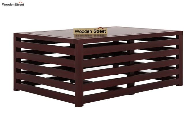 Douglas Coffee Table (Mahogany Finish)-3