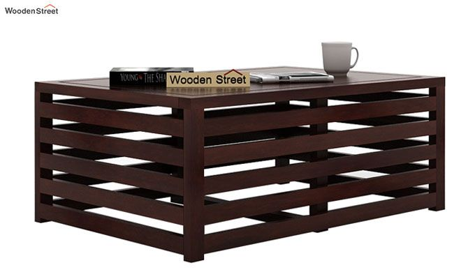 Douglas Coffee Table (Walnut Finish)-2