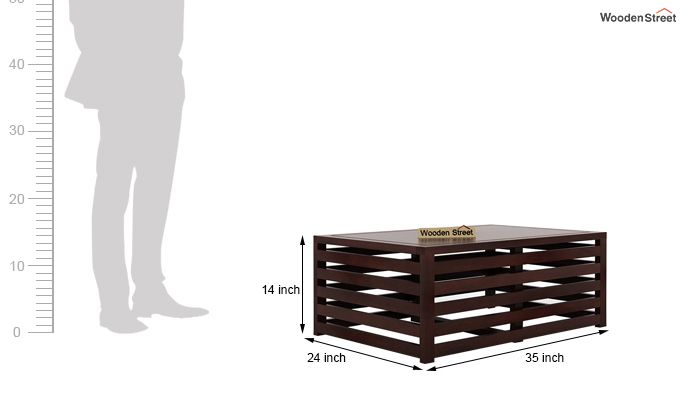 Douglas Coffee Table (Walnut Finish)-6
