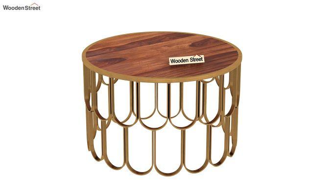 Drape Coffee Table (Honey Finish)-2