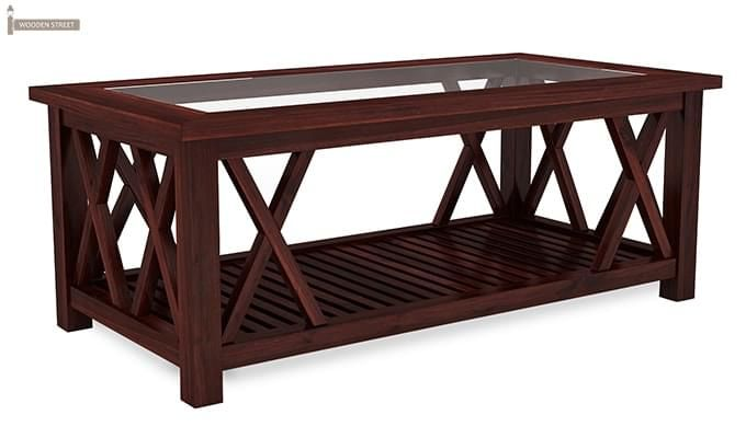 Duarte Coffee Table (Mahogany Finish)-3