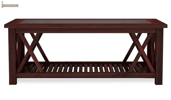 Duarte Coffee Table (Mahogany Finish)-4
