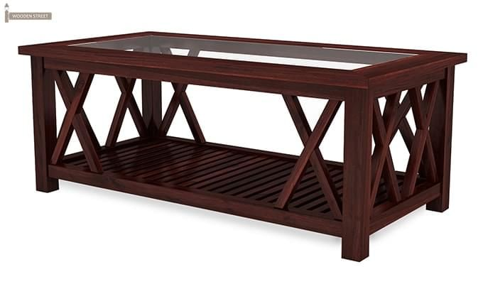 Duarte Coffee Table (Mahogany Finish)-6
