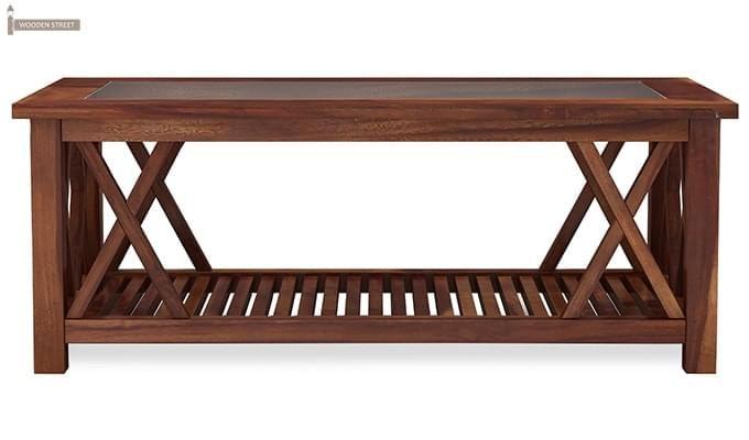 Duarte Coffee Table (Teak Finish)-4