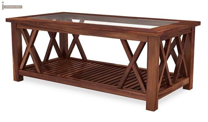 Duarte Coffee Table (Teak Finish)-6