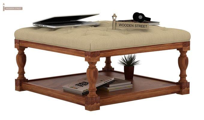 Elenore Coffee Table (Teak Finish)-1
