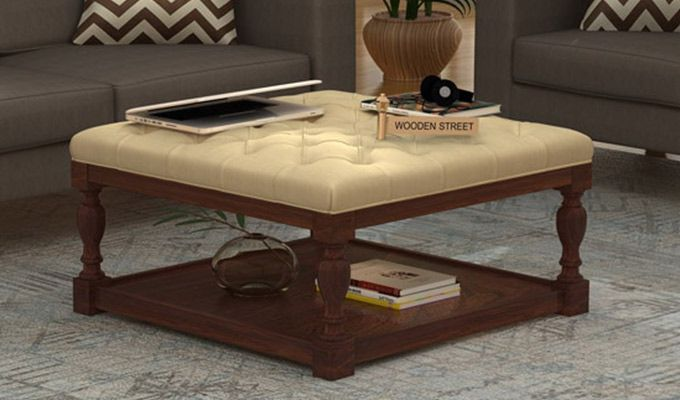 Elenore Coffee Table (Walnut Finish)-1