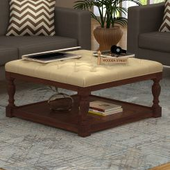 Elenore Coffee Table (Walnut Finish)