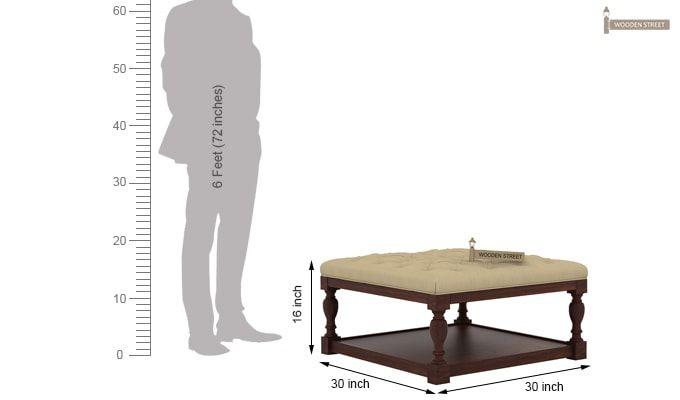 Elenore Coffee Table (Walnut Finish)-6