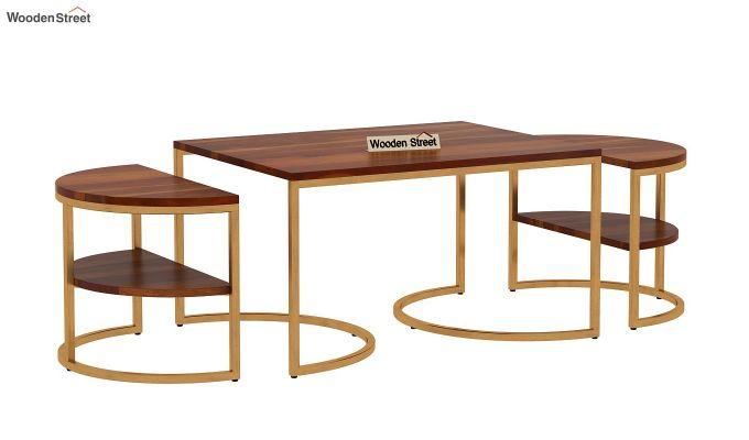 Eros Coffee Table (Honey Finish)-4