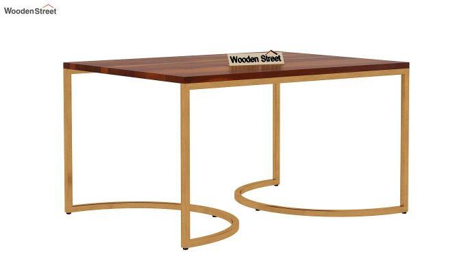 Eros Coffee Table (Honey Finish)-6
