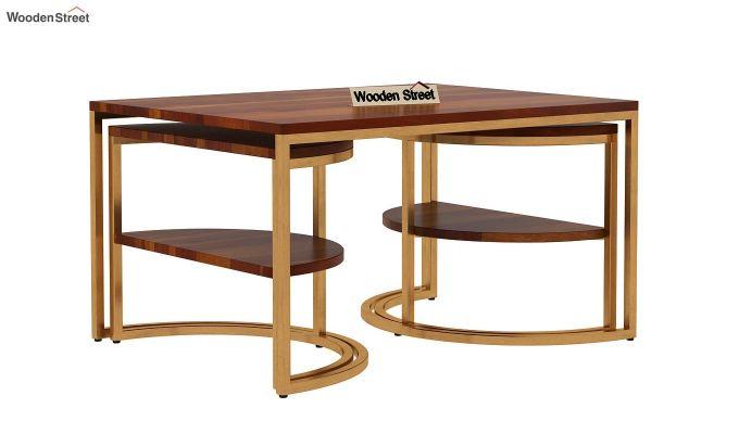 Eros Coffee Table (Honey Finish)-8