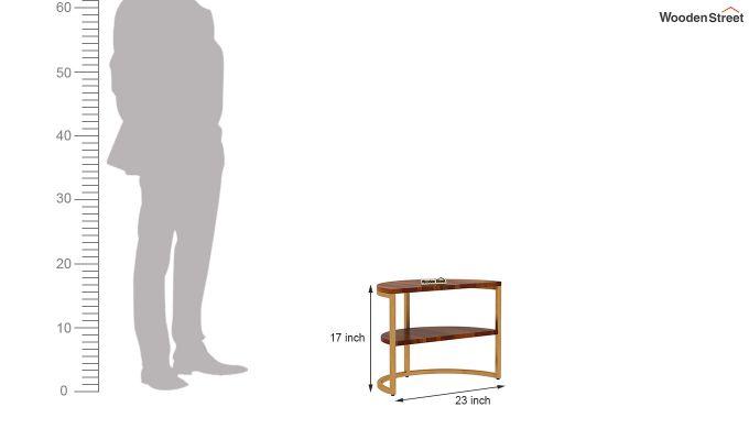 Eros Coffee Table (Honey Finish)-13
